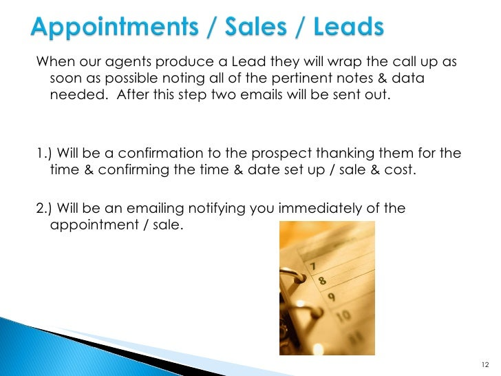 Email to our Client Email to Prospect From an agent's perspective