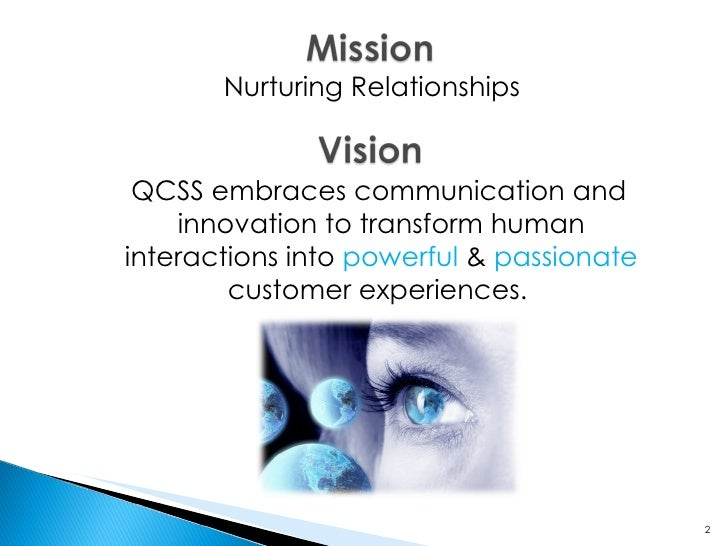 Nurturing Relationships QCSS embraces communication and innovation to transform human interactions into  powerful  &  ...