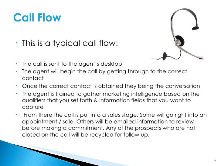 Some prospects will not make a commitment without reviewing information on your company.  Our dialing technology allows us...