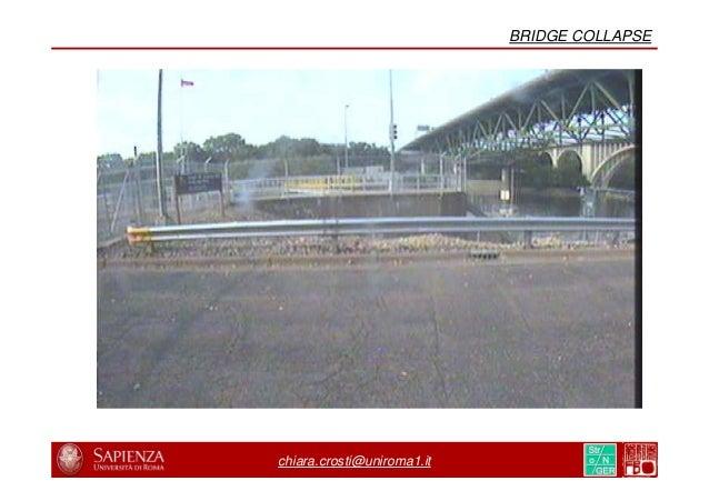 8/31 19/44 chiara.crosti@uniroma1.it BRIDGE COLLAPSE
