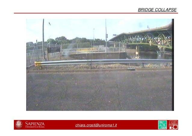 8/31 21/44 chiara.crosti@uniroma1.it BRIDGE COLLAPSE