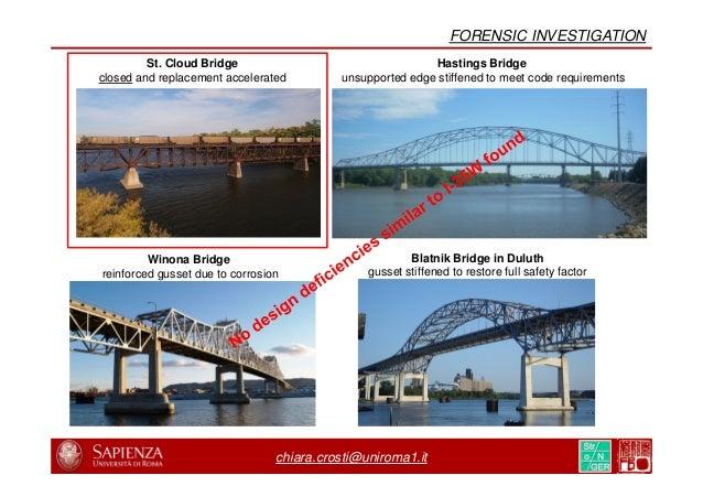 chiara.crosti@uniroma1.it NIST PHYSICAL INFRASTRUCTURE PROGRAM NIST Physical Infrastructure Program