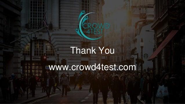 14 ©201514 Thank You www.crowd4test.com
