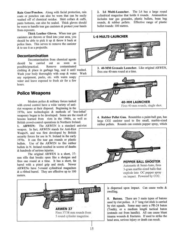 crowd control riot manual rh slideshare net PR-24 Baton On Duty Belt PR-24 Baton On Duty Belt