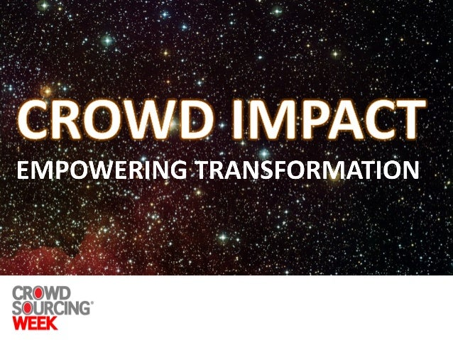 Crowd economy & people led innovation, a win-win for your organization Slide 3