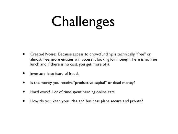 Crowdfunding for NACCE Slide 3