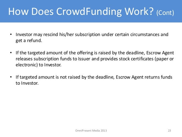 Crowdfunding: major trends research notes