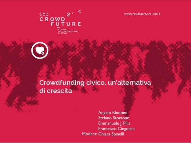 bilancio partecipativo & civic crowdfunding  