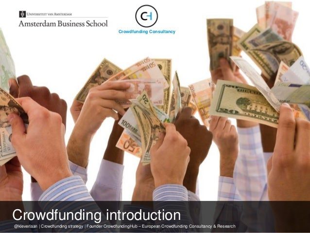 @kleverlaan | Crowdfunding strategy | Founder CrowdfundingHub – European Crowdfunding Consultancy & Research Crowdfunding ...