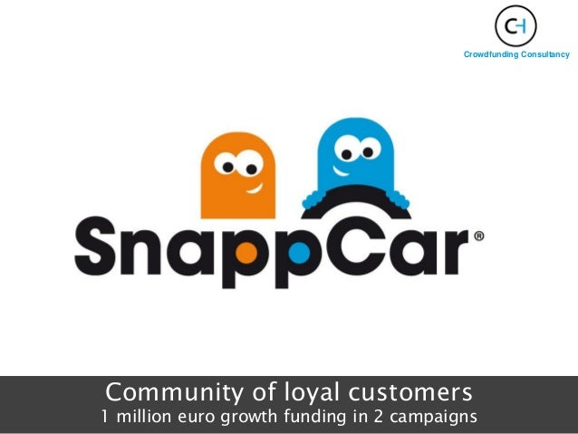Community of loyal customers 1 million euro growth funding in 2 campaigns Crowdfunding Consultancy
