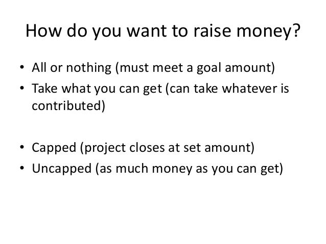 how to set up crowdfunding