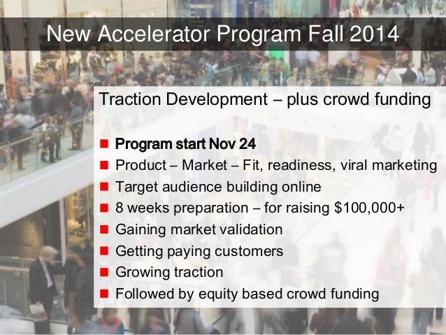 15© Copyright S3 Accelerator 2014 Copying or distribution is prohibited #S3Accel New Accelerator Program Fall 2014 Tractio...