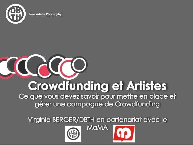 Le crowdfunding               =  « financement participatif »sappuyant sur les réseaux sociaux et les  plateformes communa...