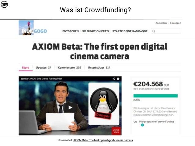 Crowdfunding für Dokumentarfilmer (DJV-Webinar) Slide 3