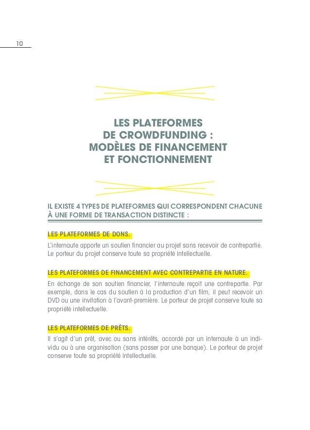 10 Il existe 4 types de plateformes qui correspondent chacune à une forme de transaction distincte:  Les plateformes de d...