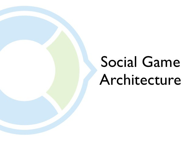 Social GameArchitecture