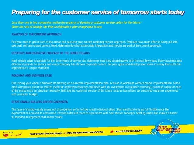 The Future of Customer Service: From Personal, to Self, to Crowd Serv…