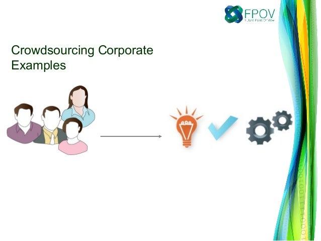 Crowdsourcing CorporateExamples