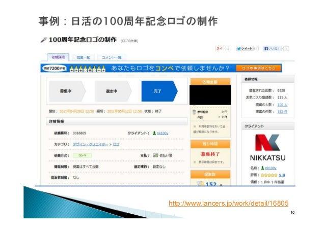 http://www.lancers.jp/work/detail/16805 10