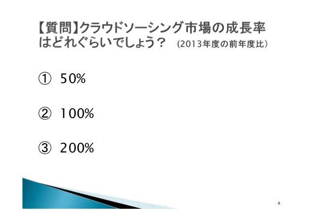 ① 50% ② 100% ③ 200%  8