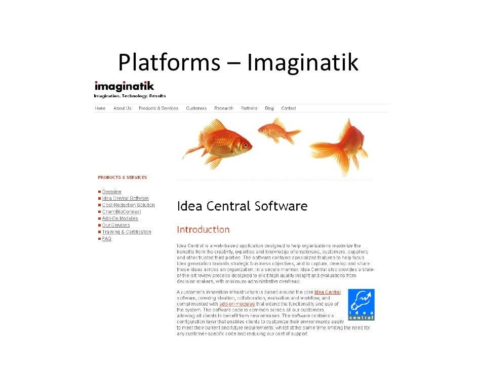 Platforms– Imaginatik