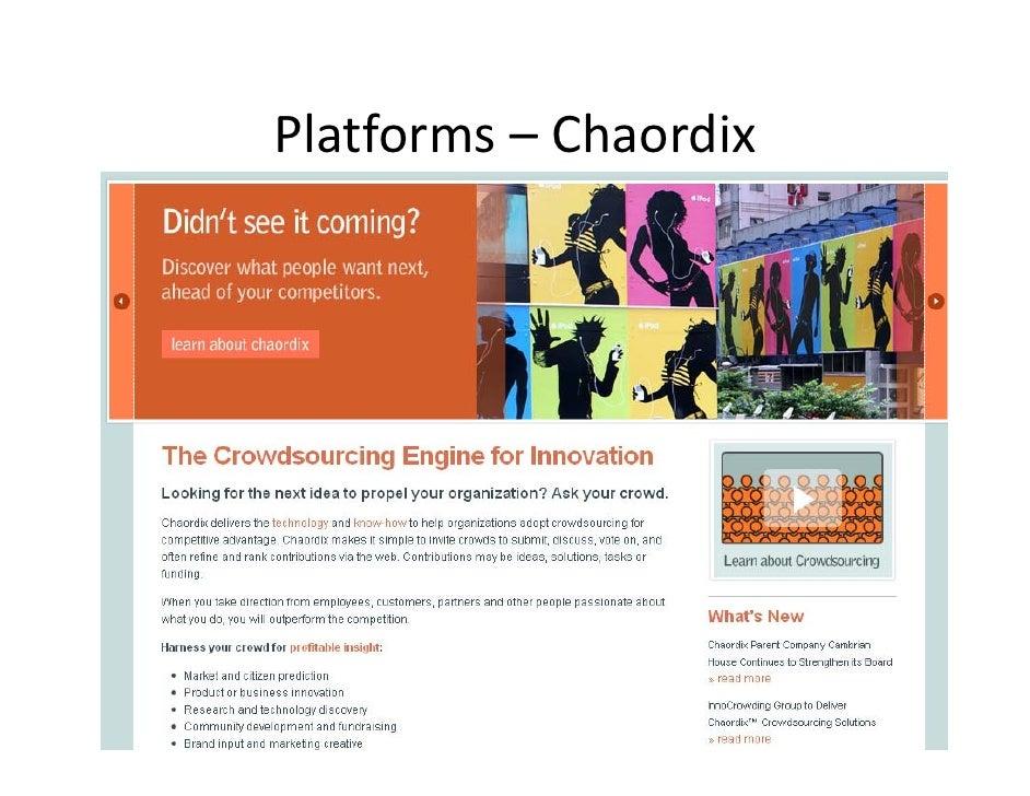 Platforms– Chaordix
