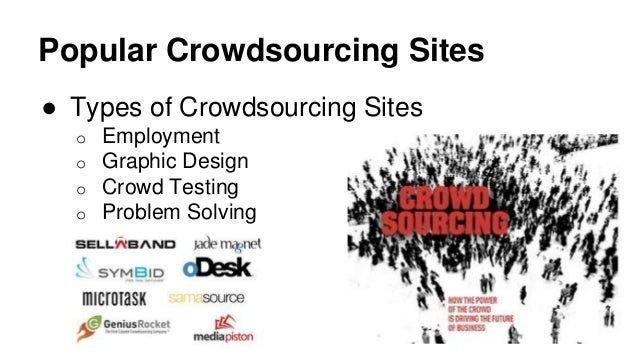 crowdsourcing problem solving and testing tasks 2018-5-7 under such circumstances a firm may choose to crowdsource problem solving rather than  used crowdsourcing to perform innovation tasks and  testing.