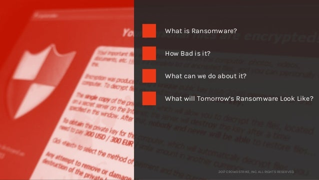 CrowdStrike CrowdCast: Is Ransomware Morphing Beyond The