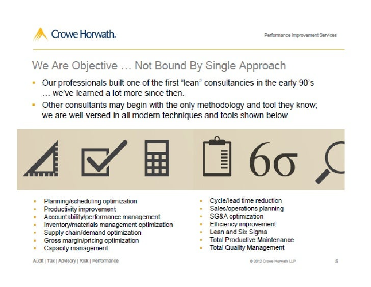 Crowe Perf Services 0612