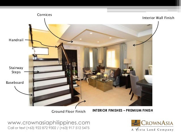 Interior Finishes Www.crownasiaphilippines.com; 7.