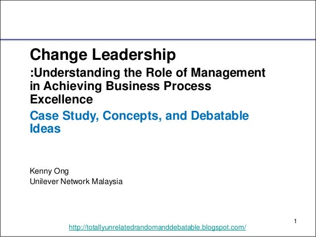 Understanding the cycle of change and