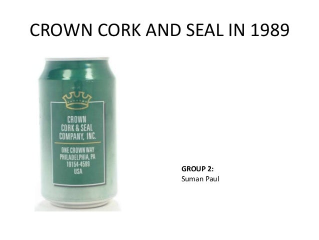 summary crown cork seal case Crown cork & seal in 1989 case solution,crown cork & seal in 1989 case analysis, crown cork & seal in 1989 case study solution, threat of a new substitute the threat of substitute is also very high for the metal can and containers.
