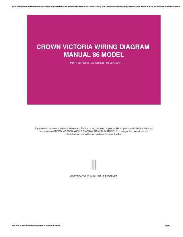 Crown victoria wiring diagram manual 86 model crown victoria wiring diagram manual 86 model pdf 68 pages 35428 cheapraybanclubmaster Image collections