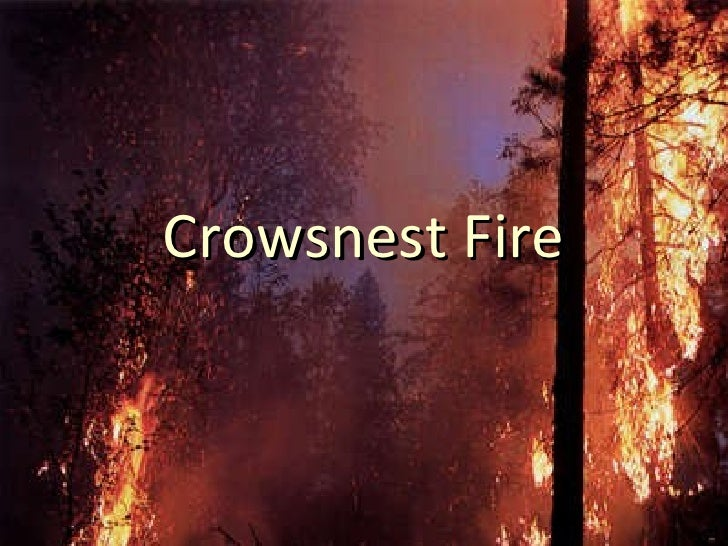Crowsnest Fire