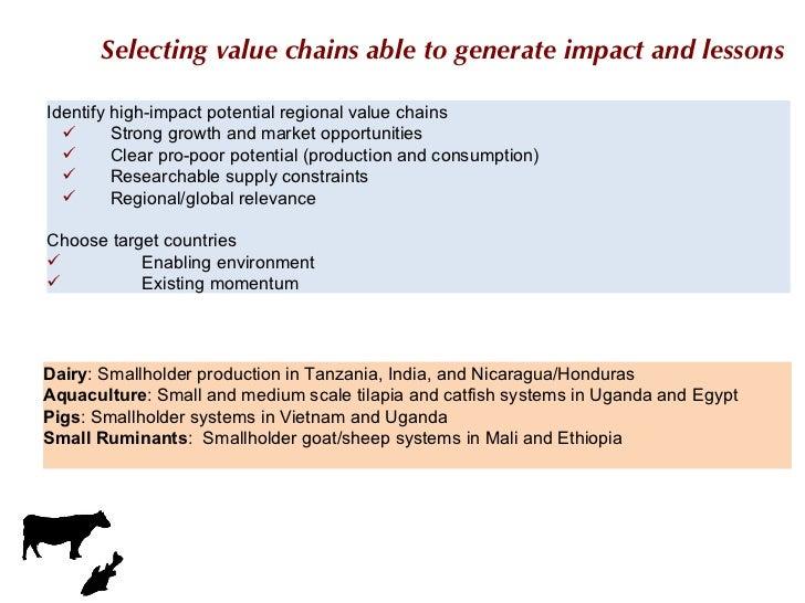 <ul><li>Identify high-impact potential regional value chains  </li></ul><ul><ul><li>Strong growth and market opportunities...