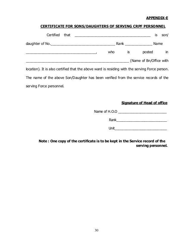 serving certificate format