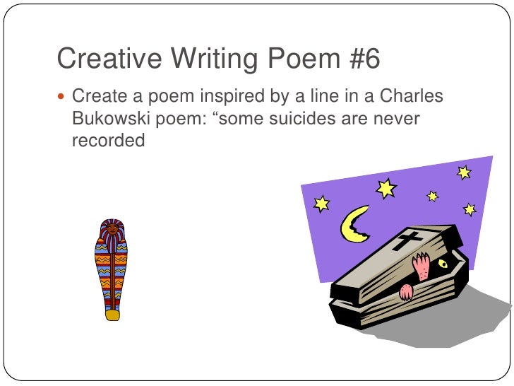 poetry creative writing prompts
