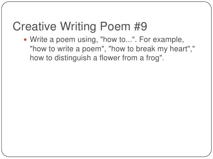 topics for poem writing Ever had trouble coming up with a theme here are 12 great ideas to write your next poetry about.
