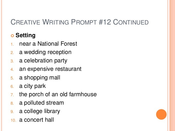 prompts for creative writing ks2
