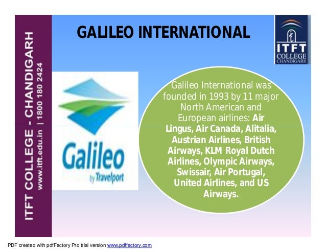 Galileo Reservation System