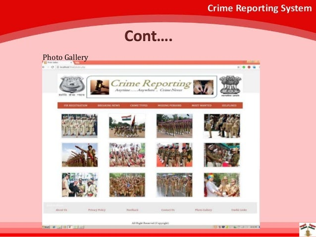 online crime reporting system Online crime reporting system important instructions please read the following instructions carefully before you begin if you have an emergency, call 911 this reporting system is for non-emergency property crimes and incidents that have occurred within the northglenn city limits.