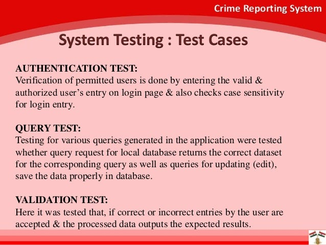 online crime reporting system Online crime reporting is not meant to replace other forms of reporting crime  all cases filed using this online reporting system will be reviewed.