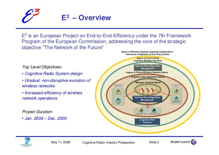 E3                    E3 – Overview  E3 is an European Project on End-to-End-Efficiency under the 7th Framework Program of...