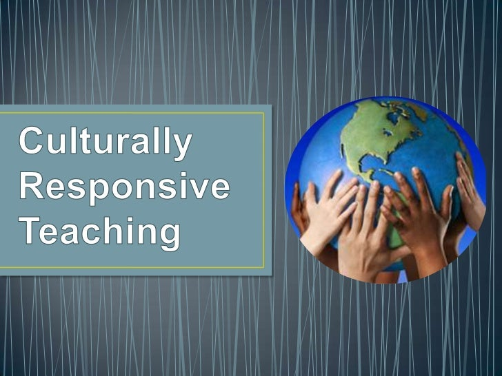 or CRT is an approach to teaching andlearning that builds on the: • Cultural Knowledge; • Prior Experiences; • Frames of R...