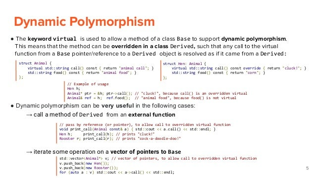 C the curiously recurring template pattern static polymorphsim a part 1 static polymorphism 4 5 maxwellsz