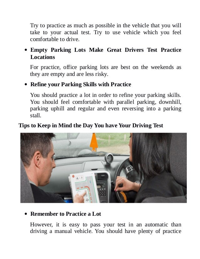 crucial tips helping learners clearing the driving test. Black Bedroom Furniture Sets. Home Design Ideas