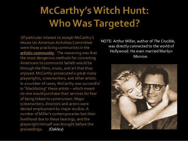 mccarthyism corruption and greed in the 1950s The myth of the quiet 1950s the so-called fight against corruption of certain labor leaders by the government was (former aide to sen joseph mccarthy).