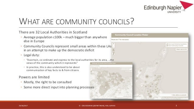 Practices of community representatives in exploiting information channels for citizen engagement Slide 3
