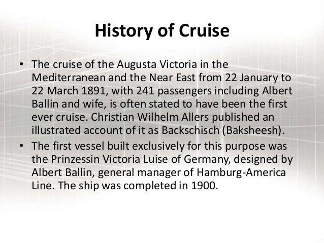 Cruiseppt - History of cruise ship industry
