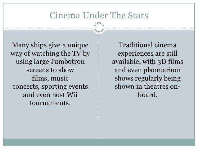 Cruise activities - 웹
